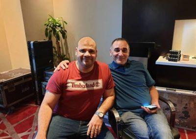 Moustafa Abbas with Maestro Amir Abdel Majid